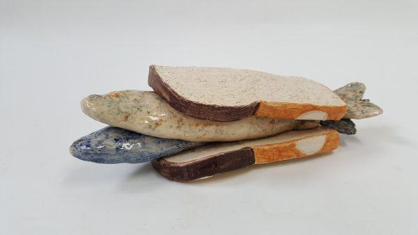 Wittebrood met haring